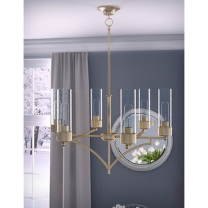 Depaz 6-Light Shaded Chandelier