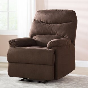 Schall Contemporary Microfiber Manual Recliner by Winston Porter