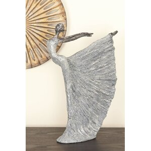 Weather Resistant and Lightweight Dancer Figurine