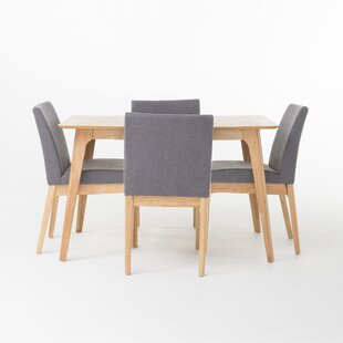 Tunis 5 Piece Dining Set by Langley Street