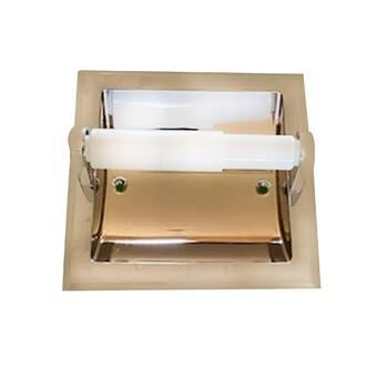 Franklin Brass Recessed Toilet Paper Holder Reviews Wayfair