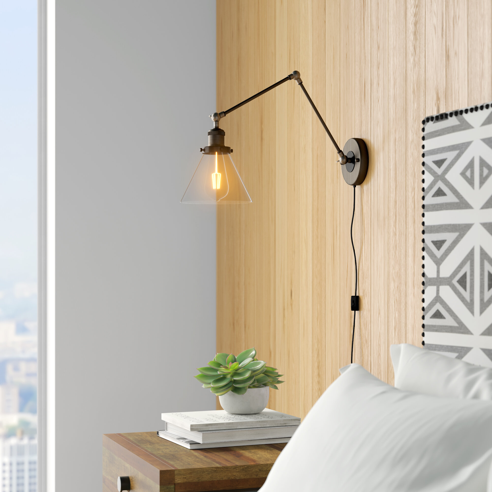 Image of: Plug In Wall Sconces You Ll Love In 2020 Wayfair