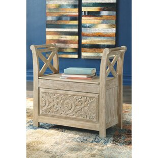 Advait Storage Bench by Bungalow Rose Design