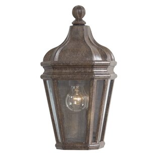 Great Outdoors by Minka Harrison 1-Light Outdoor Flush Mount