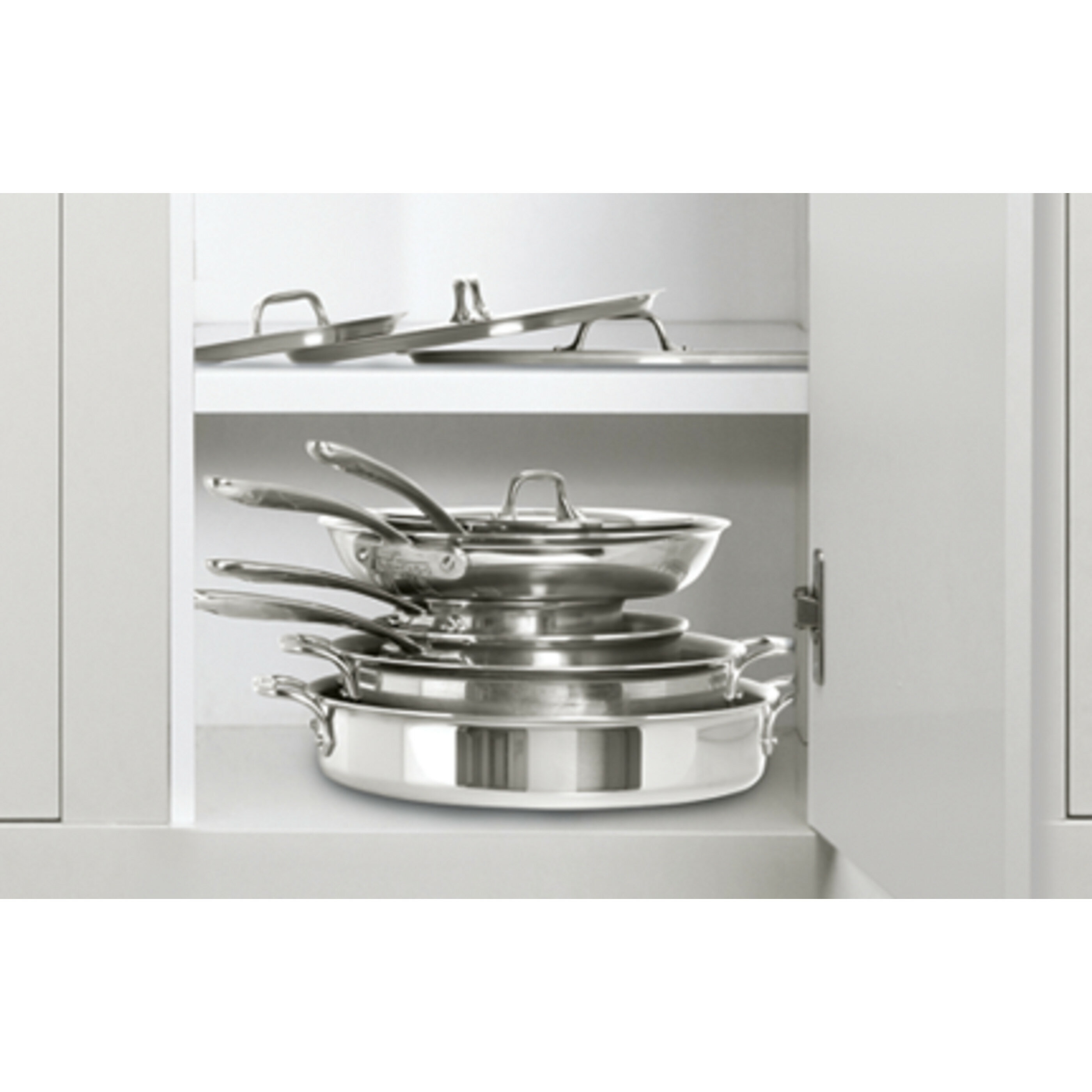 5 Piece Stainless Steel Cookware