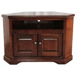 Boltongate Solid Wood Corner TV Stand for TVs up to 65 by Rosalind Wheeler