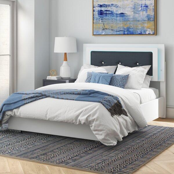 Orren Ellis Riddick Upholstered Platform Bed Reviews Wayfair
