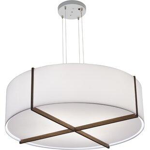 Plura 4-Light Drum Chandelier by Cerno
