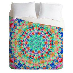 East Urban Home Floral Confetti Duvet Cover Set