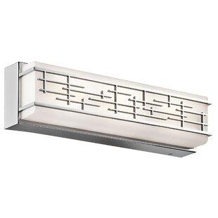 Brayden Studio Cann 1-Light LED Bath Bar