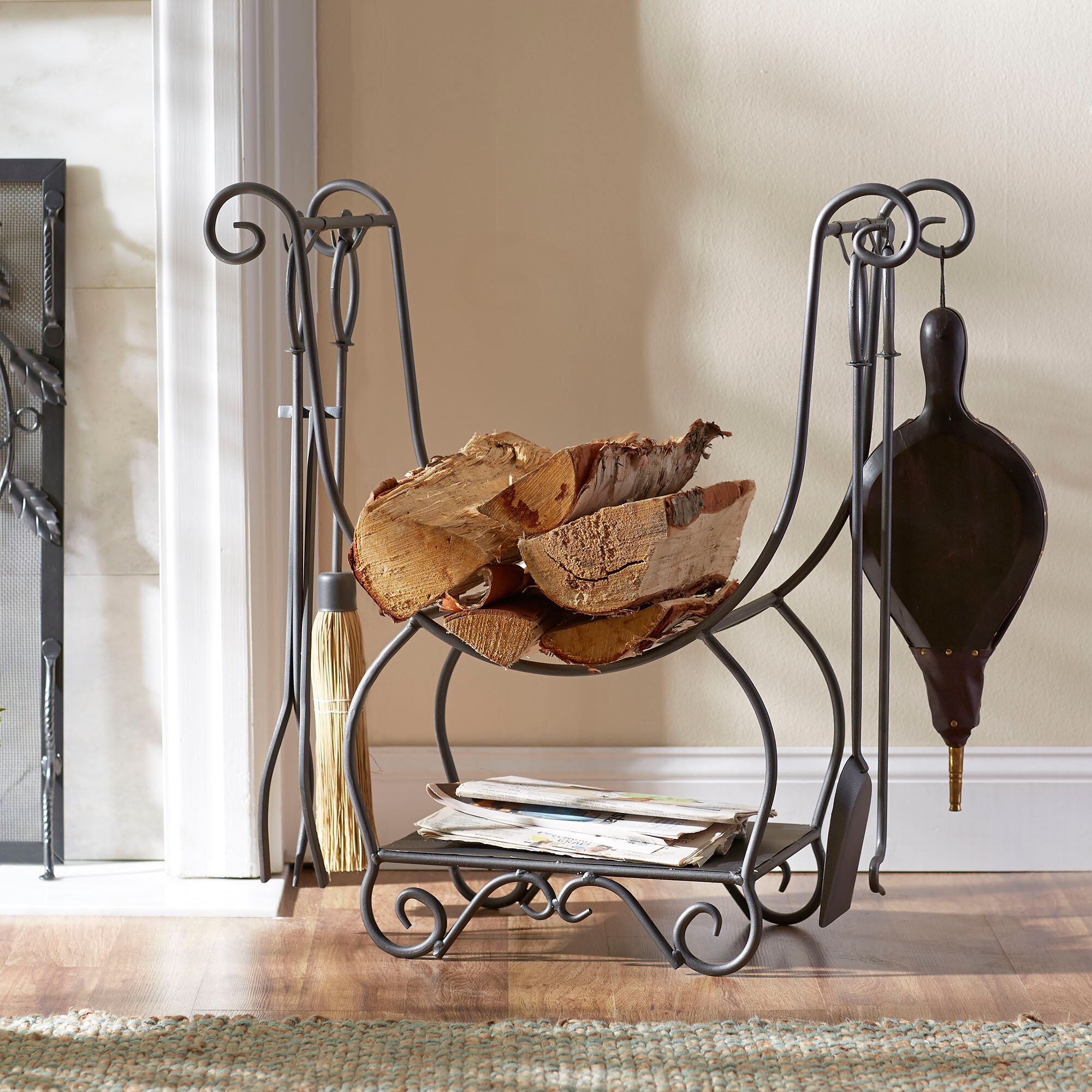 products rustic tv fireplace furniture design ashley wall unit stand large wood piers bridge rack by w insert tall