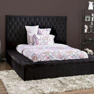 Bickel Tufted Upholstered Storage Platform Bed