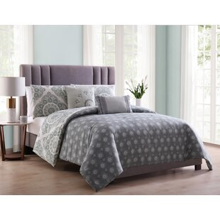 Hulme Medallion Reversible Comforter Set