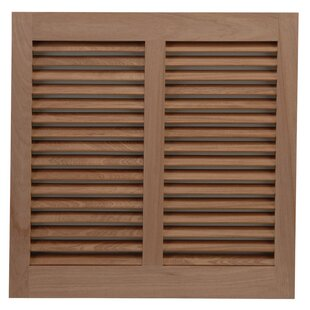 116 W Mahogany Bermuda / Bahama Shutter by Shutters By Design