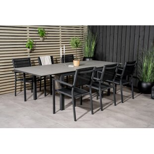 Alcibiades 6 Seater Dining Set By Sol 72 Outdoor