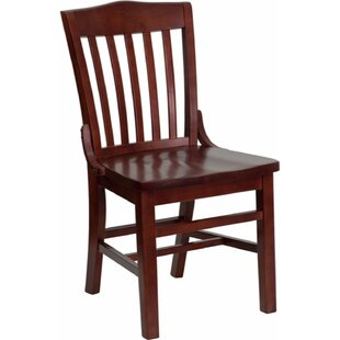 Dryden Solid Wood Dining Chair Red Barrel Studio