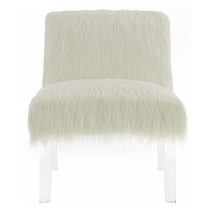 Retha Fluffy Slipper Chair by Mercer41