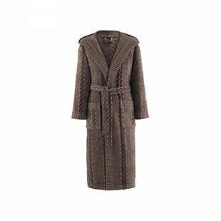 Leif 100% Cotton Velour Bathrobe