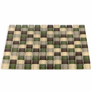 1 x 1 Glass Mosaic Tile
