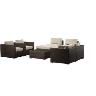 Cabral 8 Piece Sectional Seating Group with Cushions