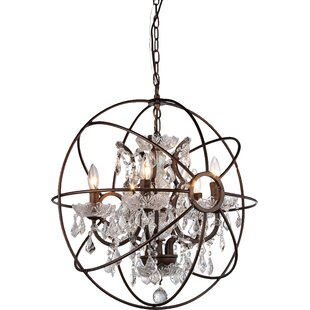 Best Price 6-Light Chandelier By Warehouse of Tiffany