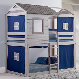 Best Alluvial Twin Bunk Bed by Zoomie Kids Reviews (2019) & Buyer's Guide