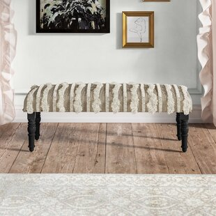 Immingham Upholstered Bench by Kelly Clarkson Home