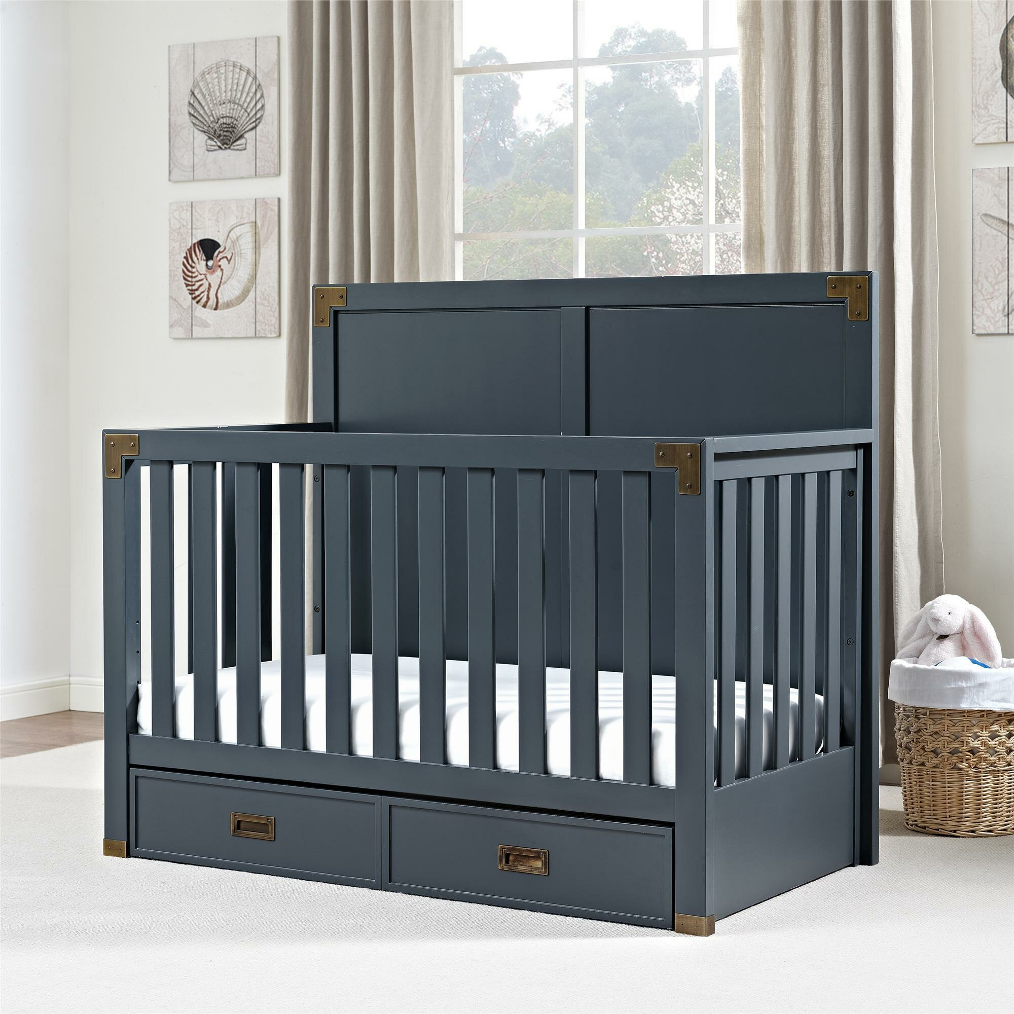 Viv + Rae Agostino 5 In 1 Convertible Crib U0026 Reviews | Wayfair