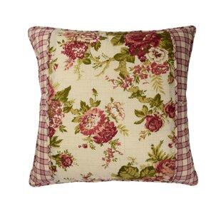 Norfolk Cotton Throw Pillow