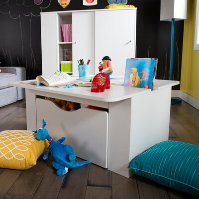Storit Kids Activity Table With Toy Box On Wheels Part 42