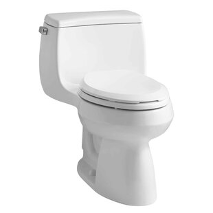 Buying Gabrielle Comfort Height One-Piece Elongated 1.28 GPF Toilet with Aquapiston Flush Technology and Left-Hand Trip Lever ByKohler
