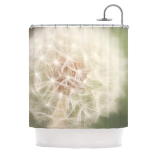 Dandelion Single Shower Curtain