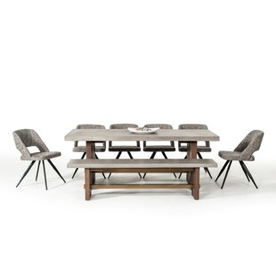 Lebrun Dining Table by 17 Stories