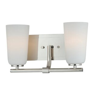 Savings Adelaida 2-Light Vanity Light By Ebern Designs