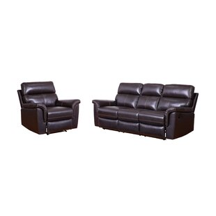 Read Reviews Paden 2 Piece Leather Reclining Living Room Set (Set of 2) by Red Barrel Studio Reviews (2019) & Buyer's Guide