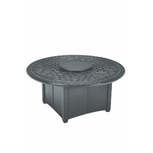 Tropitone Garden Terrace Fire Pit Table