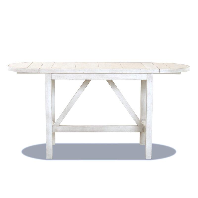 Amazing Trisha Yearwood Home Monroe Counter Height Drop Leaf Dining Table Inzonedesignstudio Interior Chair Design Inzonedesignstudiocom