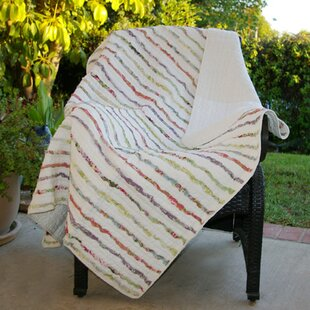 Dansereau Cotton Ruffle Throw