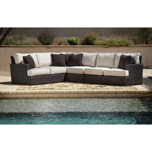 Cardiff Patio Sectional with Cushions by Sunset West