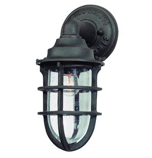 Compare prices Wyman 1-Light Outdoor Wall Lantern By 17 Stories