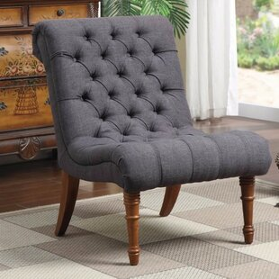 Ophelia & Co. Waldon Patently Voguish Slipper Chair