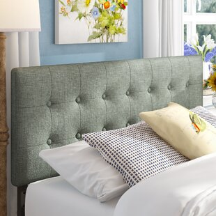 Reviews Corneau Upholstered Panel Headboard by August Grove