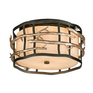 Foundry Select Arcola 2-Light Flush Mount