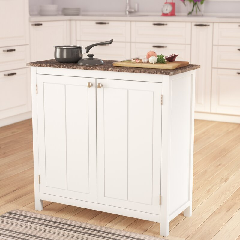 Alcott Hill Haubrich Kitchen Island & Reviews | Wayfair