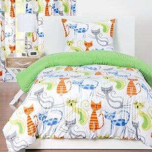 Haviland Smarty Cat Comforter Set