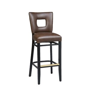 Price Check Dobbs Beechwood Square Open Back Bar Stool by Latitude Run Reviews (2019) & Buyer's Guide
