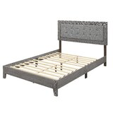 Gustavo Tufted Low Profile Platform Bed by Laurel Foundry Modern Farmhouse