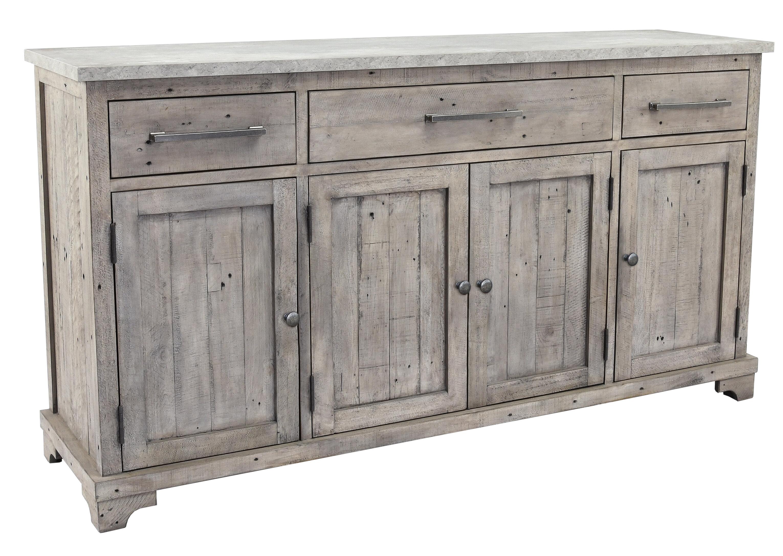 Birch Lane Mcdougald 67 Wide 3 Drawer Pine Wood Sideboard Reviews Wayfair