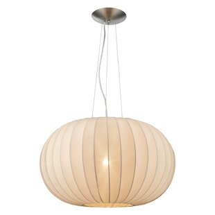 Damiano 1-Light Pendant by Latitude Run