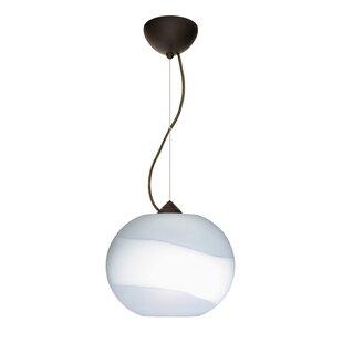 Besa Lighting Luna 1-Light Globe Pendant